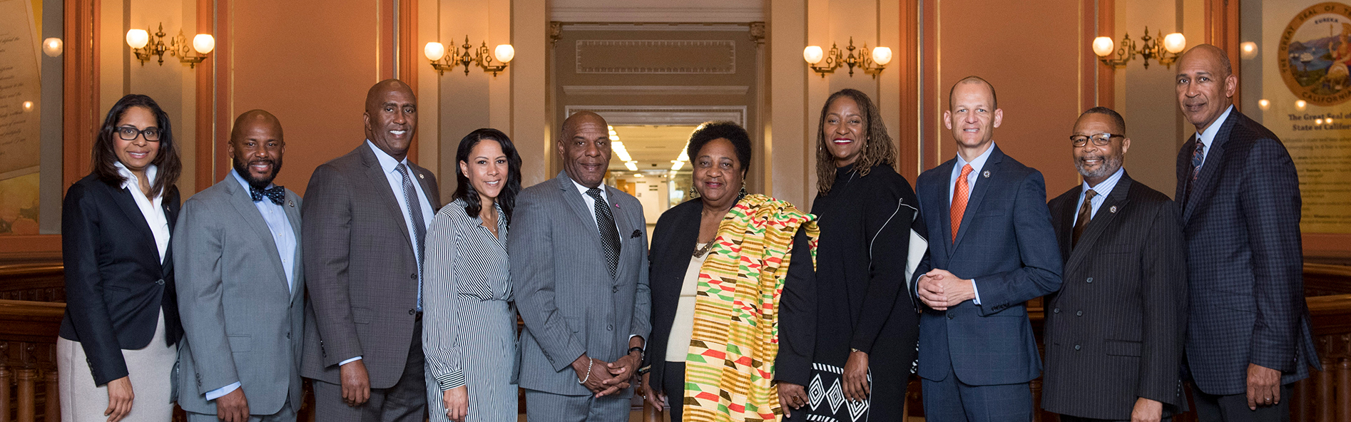 Curren California Legislative Black Caucus Members