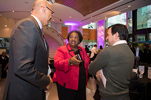 Assemblymember Holden, Caucus Chair Shirley Weber Ph.D. and Speaker Anthony Rendon