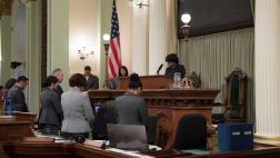 CLBC MLK, Jr. Floor Session Ceremony - Assembly Floor